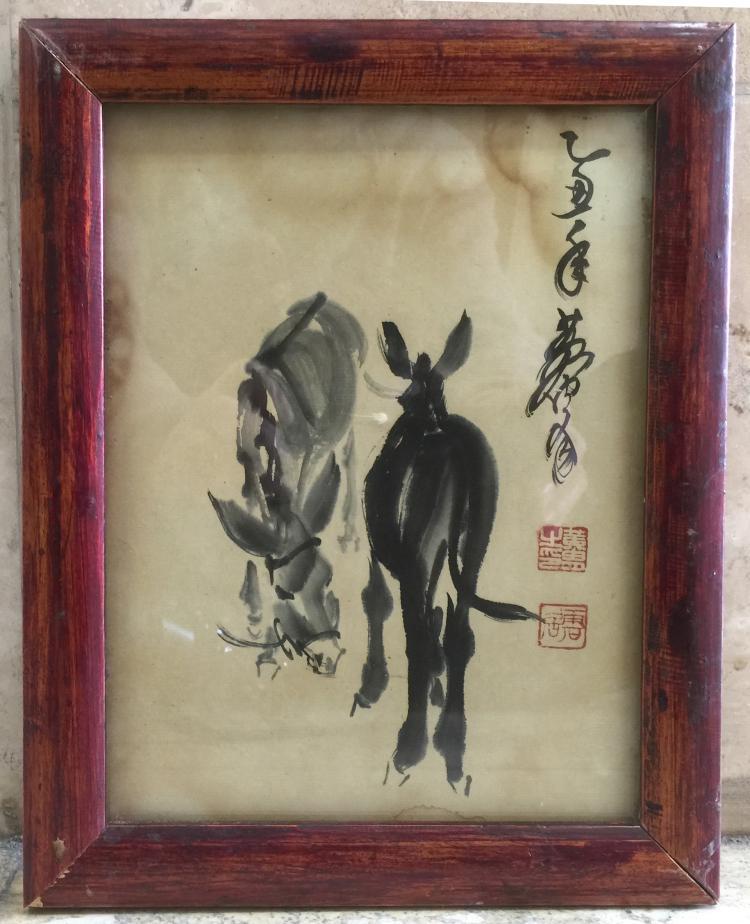 Huang Zhou ( 1925¡ª1997), Donkey