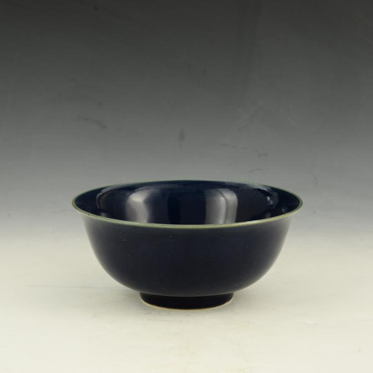 Chinese Monochromatic Glaze Bowl