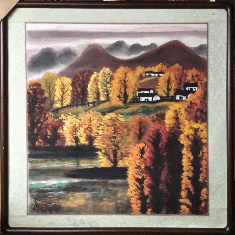 Lin Fengmian (1900-1991), Landscape