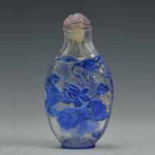 Chinese Peking Glass Snaff Bottle