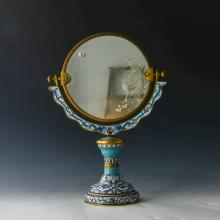 Chinese Cloisonne Mirror