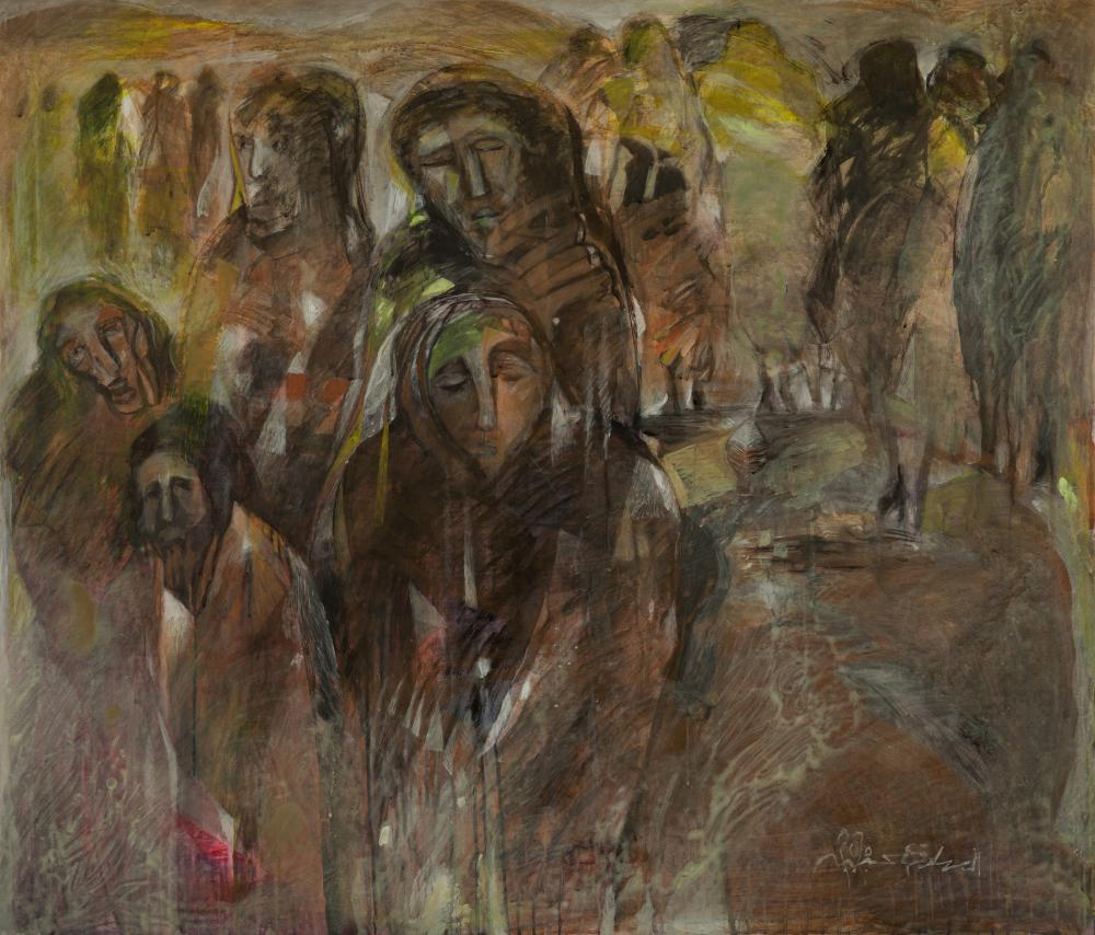 El Sadig Agena (Sudanese, born 1963) Migration to Another Place, 2020