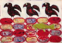 Inuit Influences: Ravens of the Spirit World/Fish