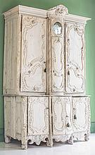 PROVINCIAL CARVED CUPBOARD