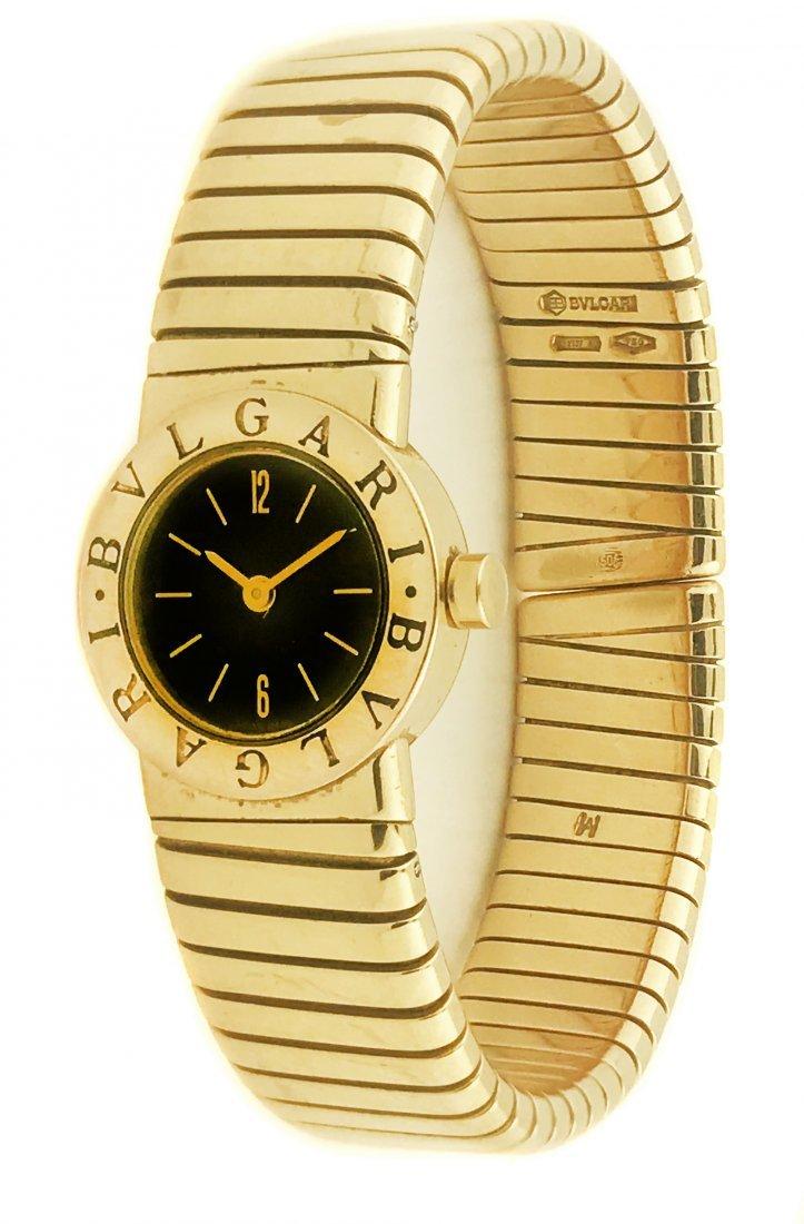 'BULGARI', Lady's gold wristwatch