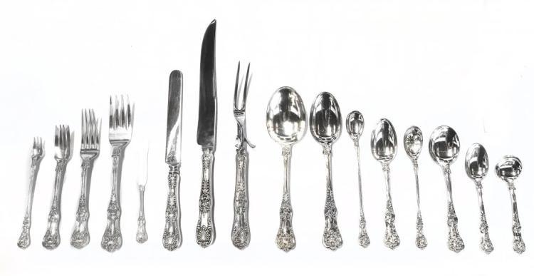 Tiffany & Co. sterling silver 'English King' flatware