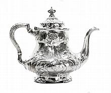 GORHAM 'MARTELE' SILVER TEA POT
