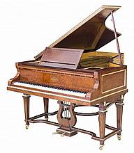 ERARD LOUIS XVI STYLE GILT-BRONZE AMBOYNA GRAND PIANO