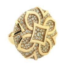 18 Karat Gold and Diamond Ring