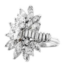 FINE DIAMOND COCKTAIL RING