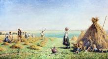 PAUL ALBERT BAUDOUIN (FRENCH, 1844-1931) THE HARVESTERS