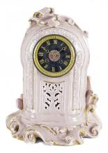 PARIS PORCELAIN TIFFANY AND COMPANY MANTLE CLOCK