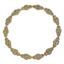 Lot 29: Fine Diamond Necklace, Black Starr & Frost