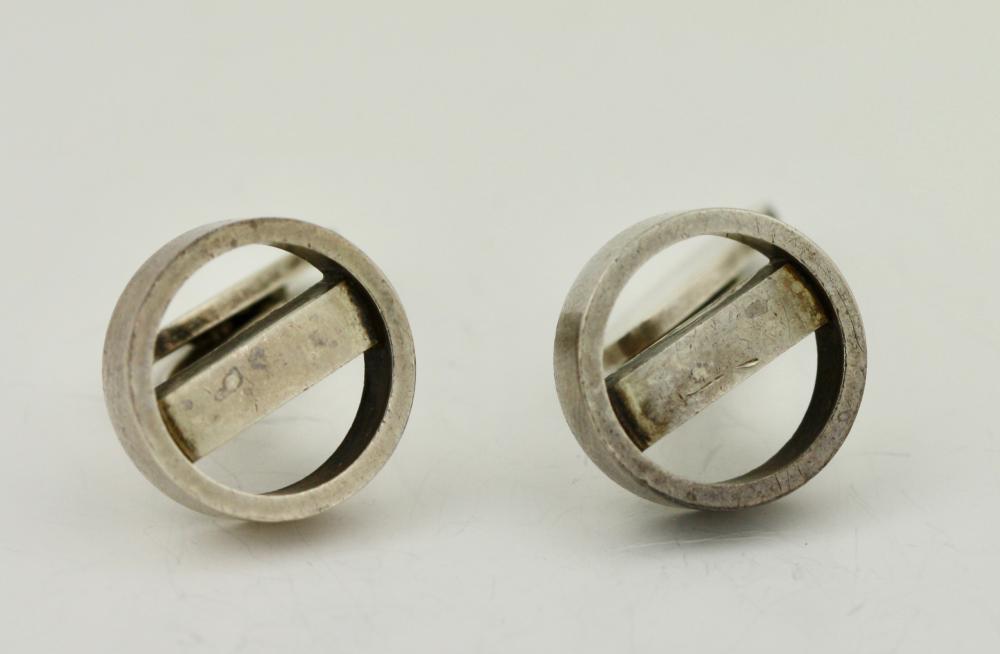 Lot 43: GEORG JENSEN, Pair of Sterling Silver Cufflinks