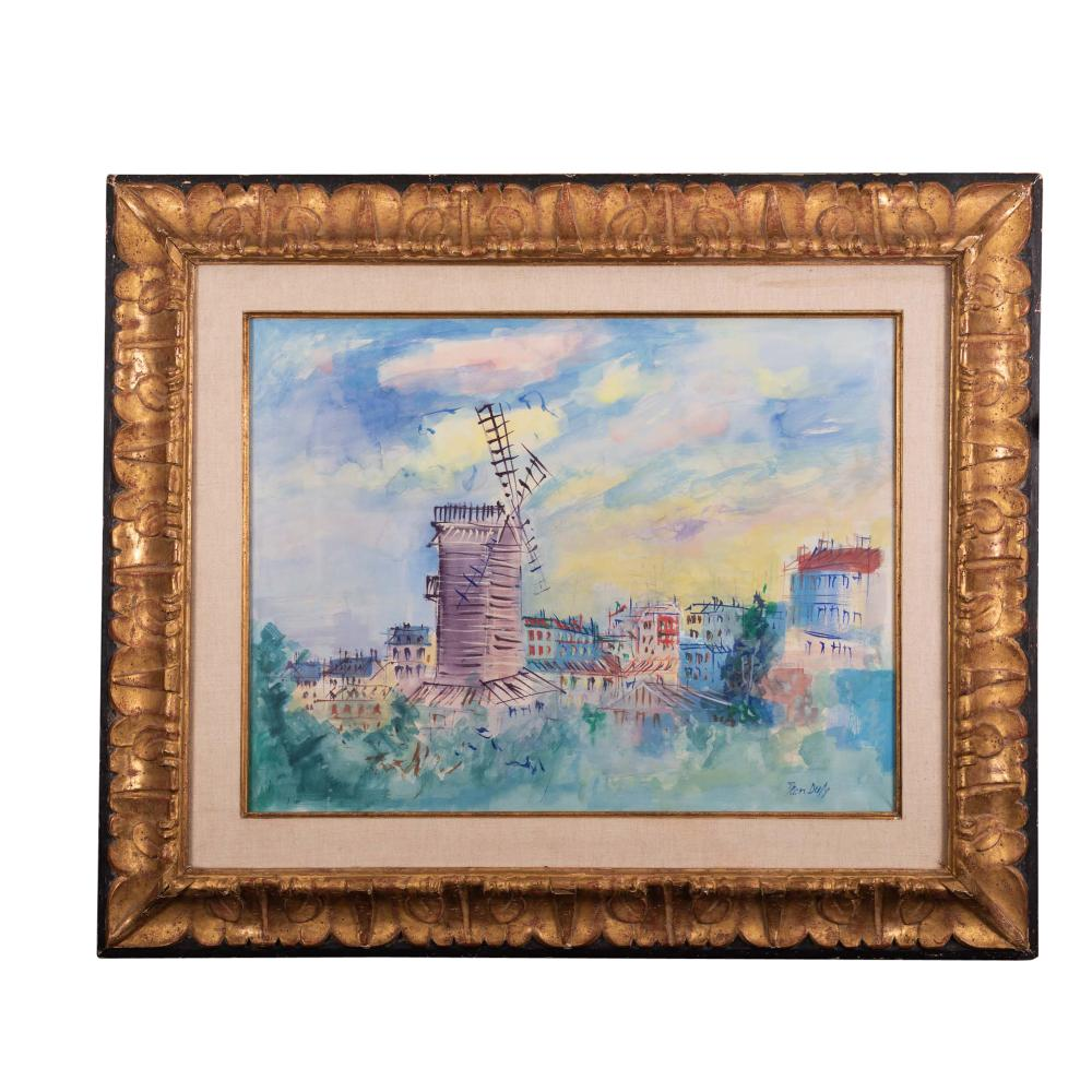 Lot 61: Jean Dufy (1888-1964) Le Moulin de la Galette