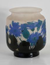 Lot 67: Eƒmile GallŽe (1846-1904), Fine Galle Cameo Glass Vase