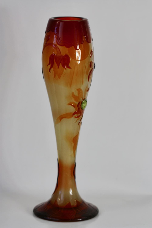 Lot 83: Emile GallE (1846-1904), Fine Fire Polished Galle Vase