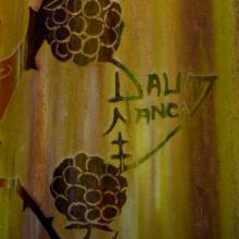 Lot 82: Tall & Fine Daum Nancy Internally Decorated Glass Vase