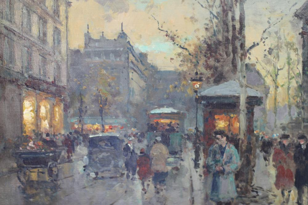 Lot 48: Edouard Corts (1882-1969) Large and Fine Oil on Canvas