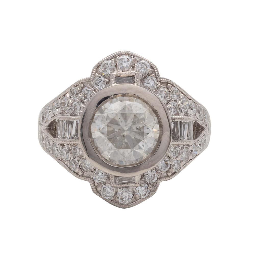 Lot 8: Fine Diamond Ring