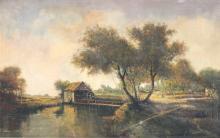 Nicholas BRIGANTI (1861-1944) Oil On Canvas