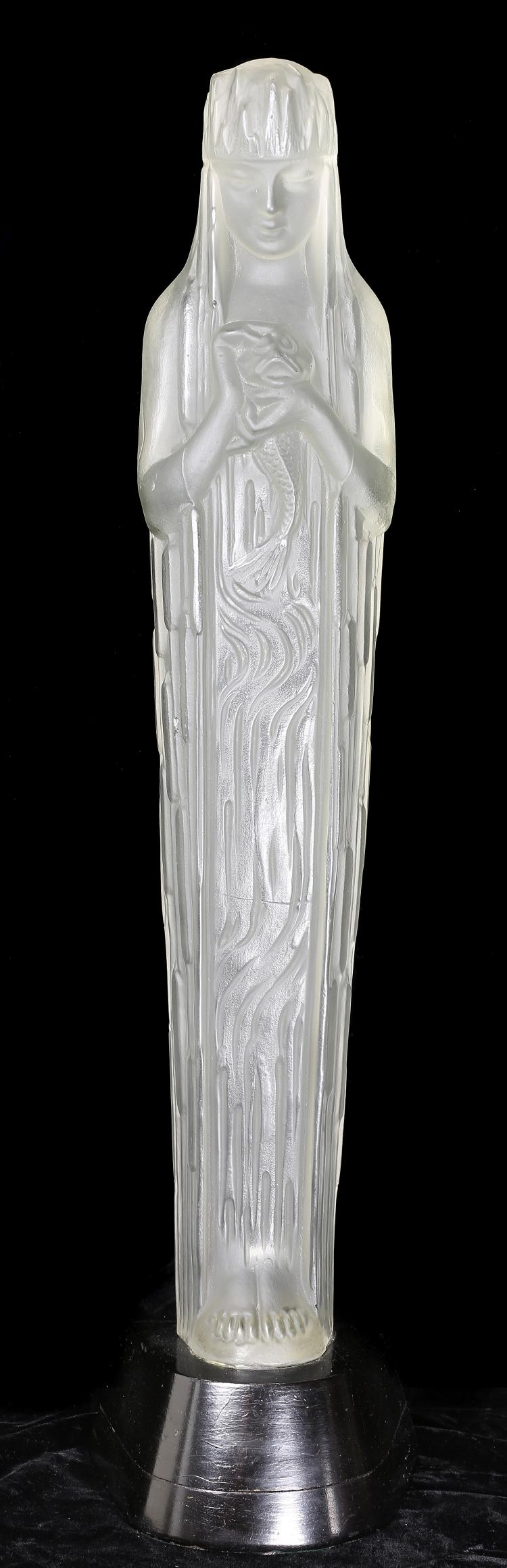 RENE LALIQUE (1860-1945)'SOURCE DE LA FONTAINE DORIS'