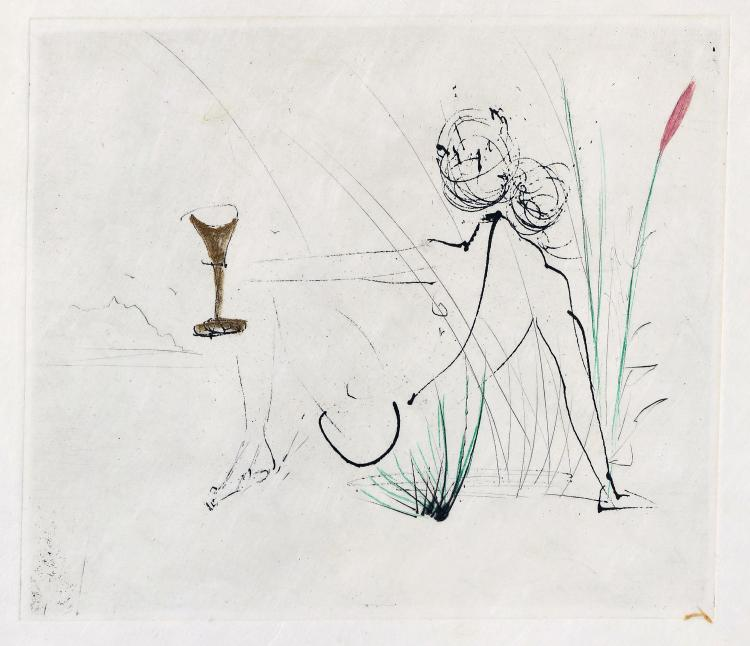 After Salvador DALI (1904-1989)