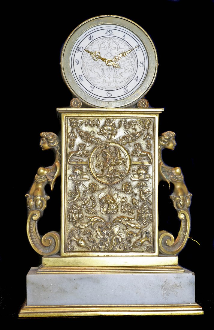 EDWARD F. CALDWELL CLOCK NEW YORK CIRCA 1900