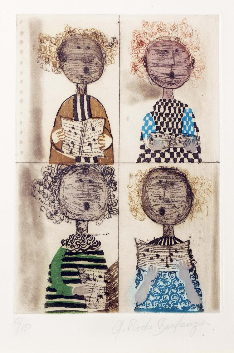 Graciela Rodo Boulanger (Bolivian, born 1935)