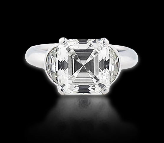 VERY FINE GIA CERTIFIED DIAMOND RING