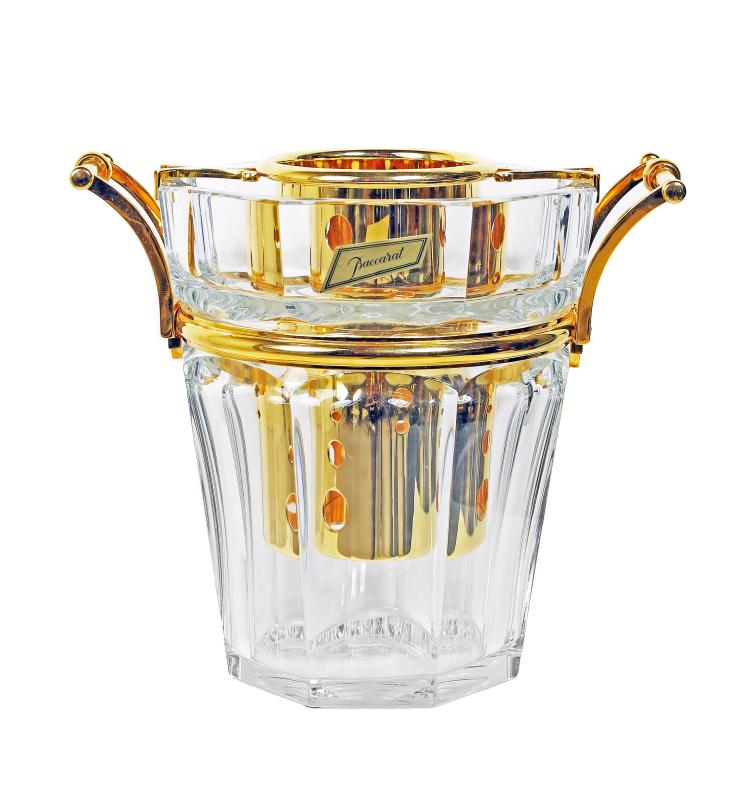 FINE BACCARAT CRYSTAL CHAMPAGNE BUCKET