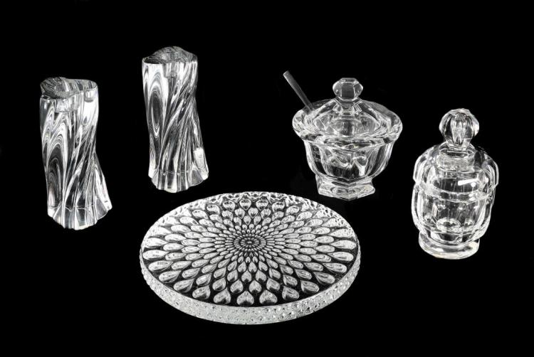 BACCARAT FRANCE 20TH CENTURY (4) FOUR ITEMS