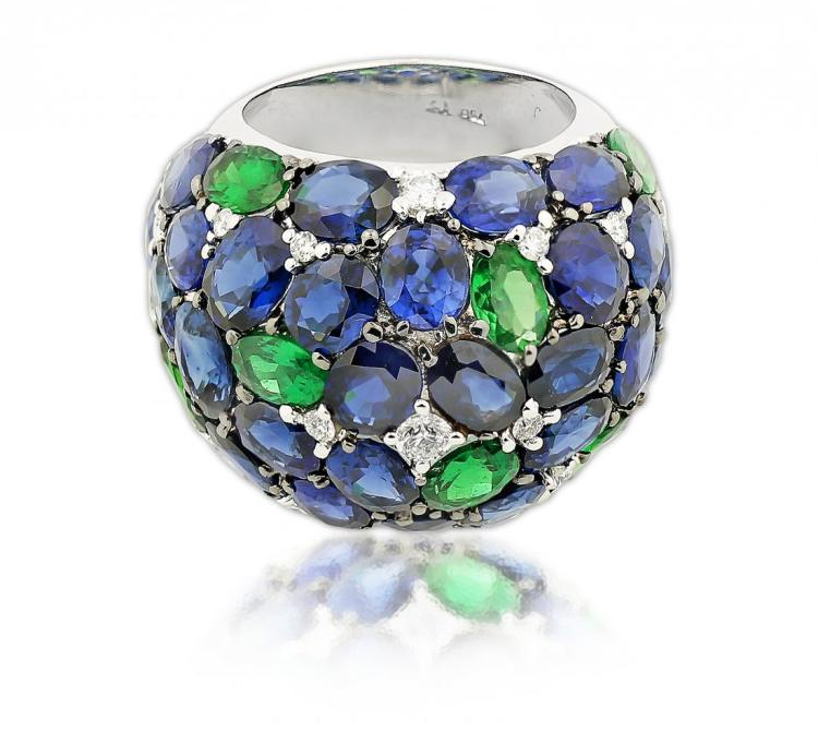 18K DOME RING