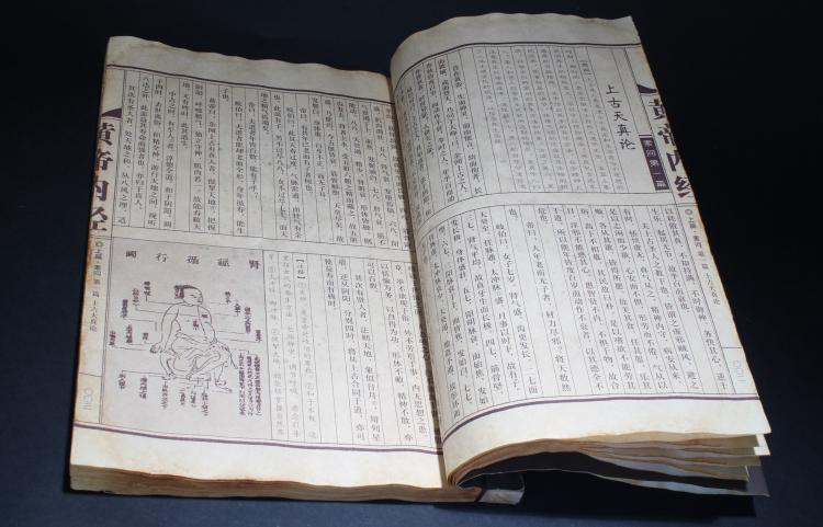 A Chinese Estate Fengshui Display Book