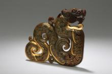 A Chinese Estate Jade-curving Figure