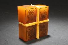 Group of Chinese Estate Four-season Soapstone Stamps