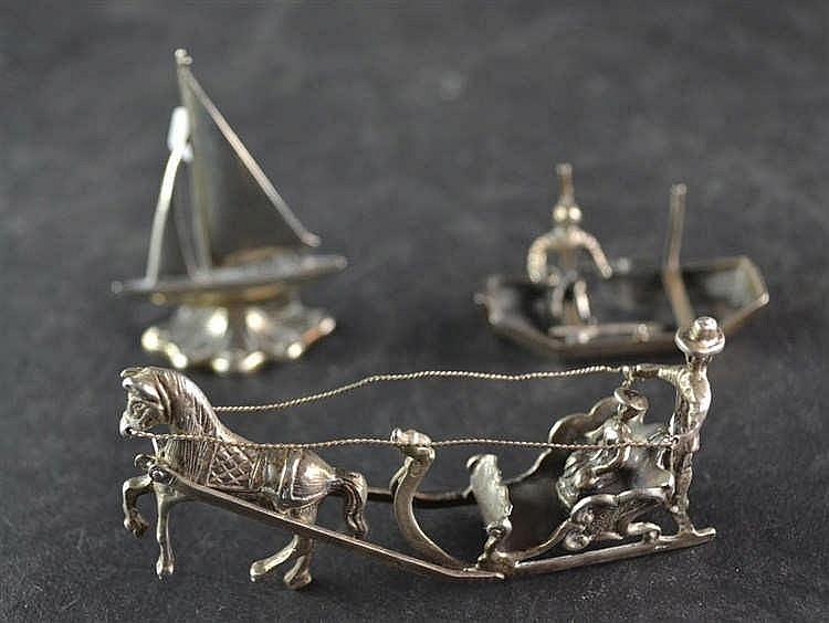 Zilveren miniatuur Arrelsee