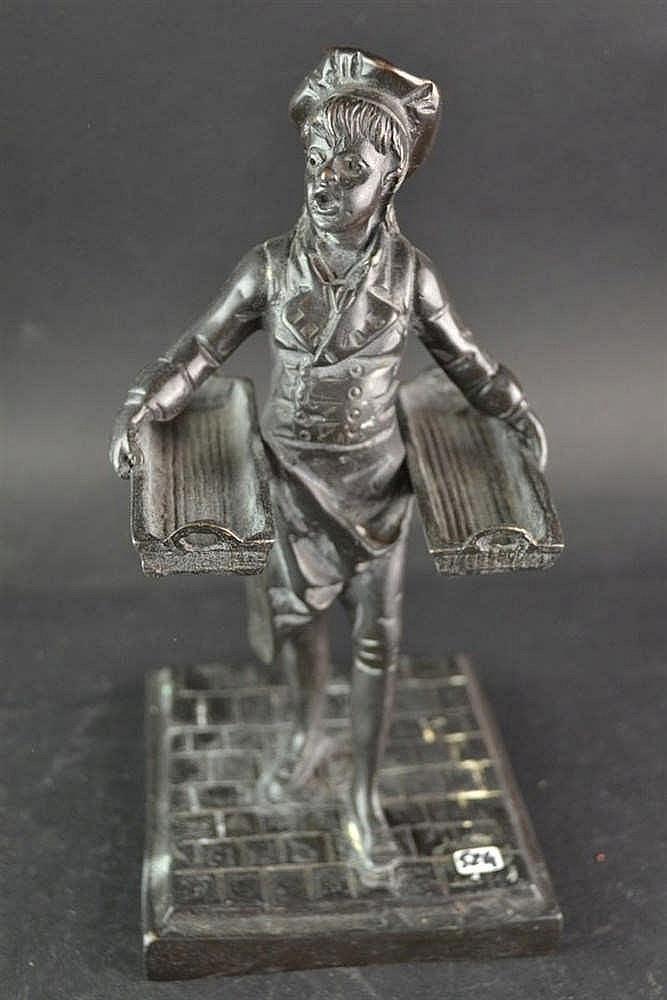 Bronzen bakker