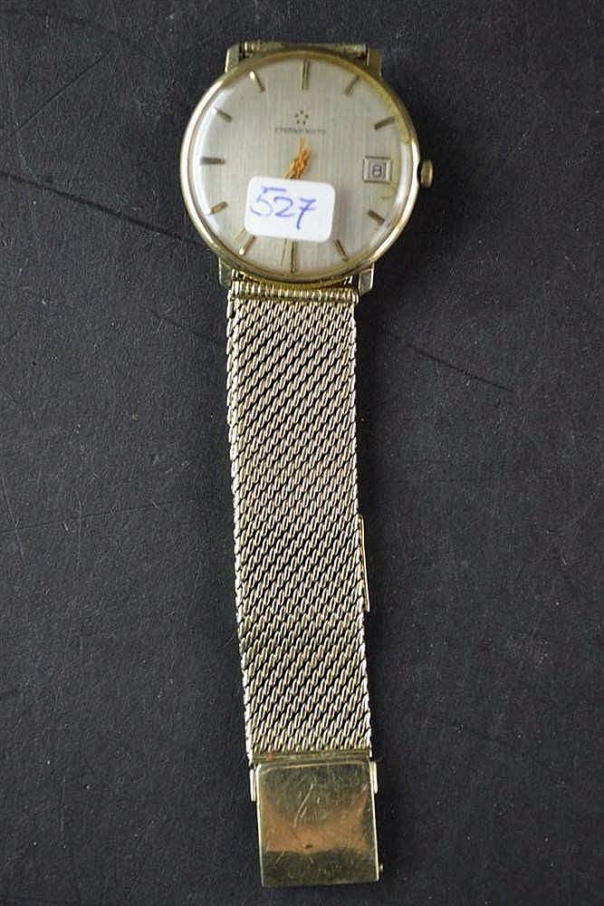 14 karaats gouden Eterna Matic horloge