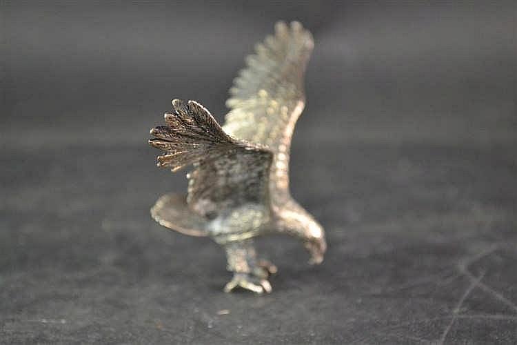 Zilveren roofvogel