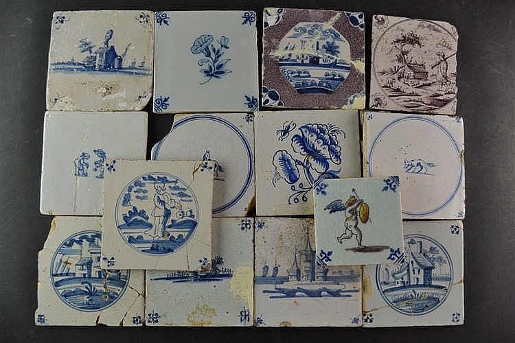 Antieke tegels 18e/19e eeuw