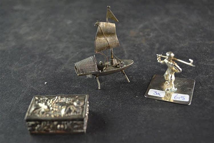 Zilveren miniatuur