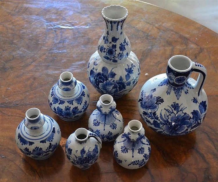 Porceleijne fles delft