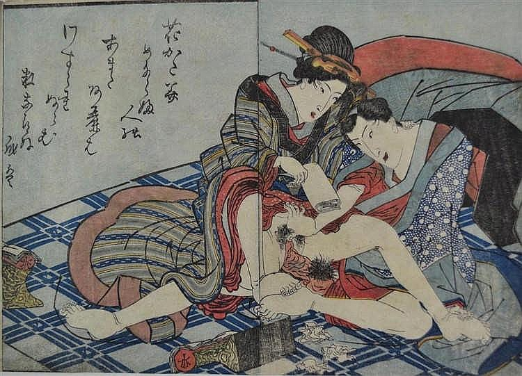 Utagawa Kunisada - Shunga