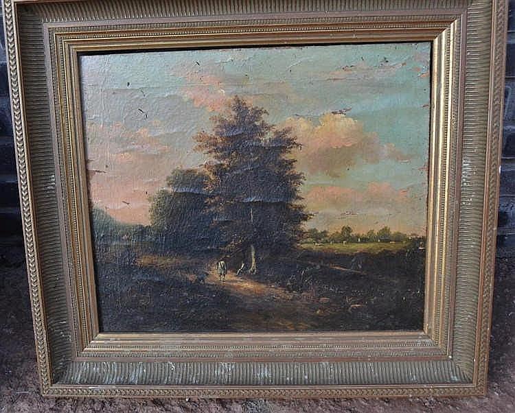 Schilderij klassiek landchap