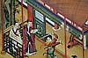 Achterglas schildering - China