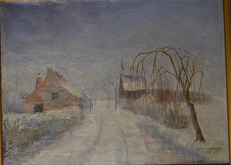 Hendrik Wringer - Wintergezicht