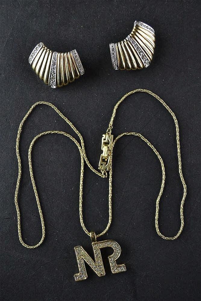 Nina Ricci Costume jewelry ketting