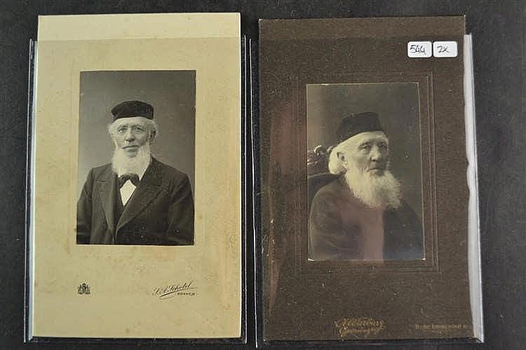 Judaica - Kabinetsfoto's Rabijn
