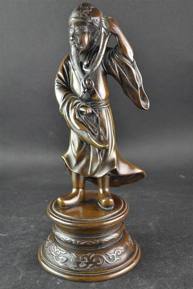 Bronzen chinees beeld